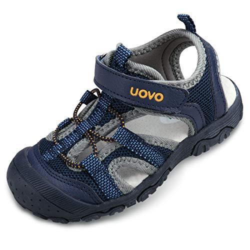 Jungen Sandalen Trekking Wandern Kinder Sandalen Sommerschuhe Outdoor Geschlossene Zehe Sandalen Sportliche Blau 25