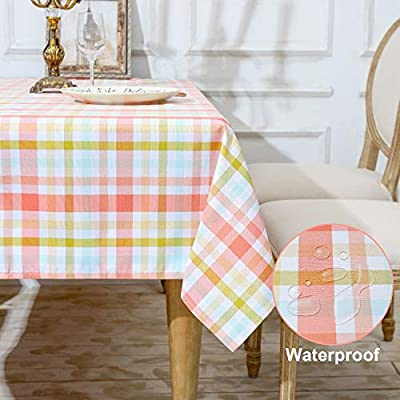 Amazon - Save 50%: HARORBAY Outdoor Table Cloth for Picnic, Fall Rectangle Tablecloth, Far…