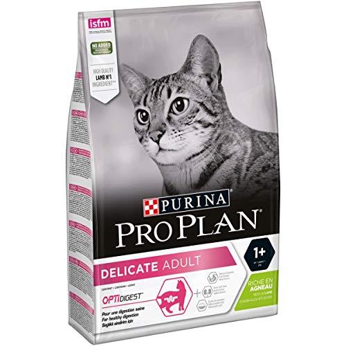 PRO PLAN Delicate - Riche en Agneau - 3 KG - Croquettes pour chat adulte