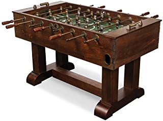 retro foosball table