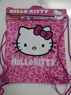 Hello Kitty Sling Bag Pink Leopard Print