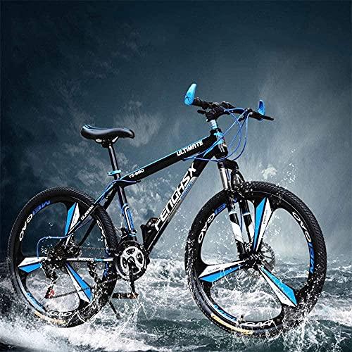 """Bicicleta de montanha 24/27 Speed 24 26 polegadas Mulheres Mountain Bikes para adultos Adequado para altura: 160-185 cm Bicicleta de estrada ecológica usada para trabalho e escola - 26"""" _24 velocidades incrível"""