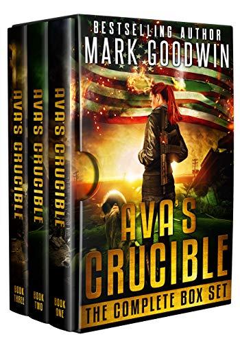 Post-Apocalyptic Box Set: Ava's Crucible: A Saga of America's Coming Civil War (English Edition)