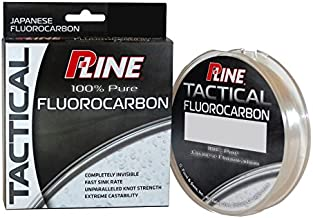 P-Line Tactical Premium Flurorcarbon 200 Yd Filler Spool, 12 lb, Clear