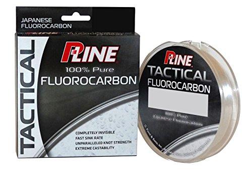 P-Line Tactical Premium Flurorcarbon 200 yd Filler Spool, 8 lb, Clear