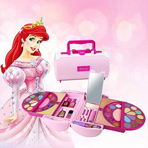 Geggur Kit Juguete De Maquillaje Para Niñas,Set De Maquillaje Para Niñas Pequeñas,Caja...