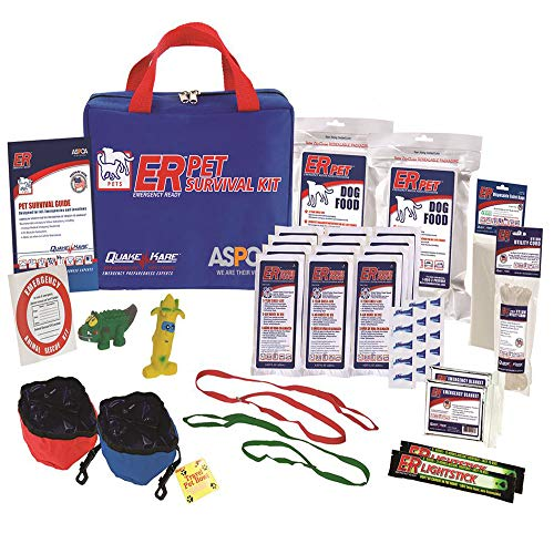 ER Emergency Ready Ultimate Deluxe Pet Survival Kit for Two...
