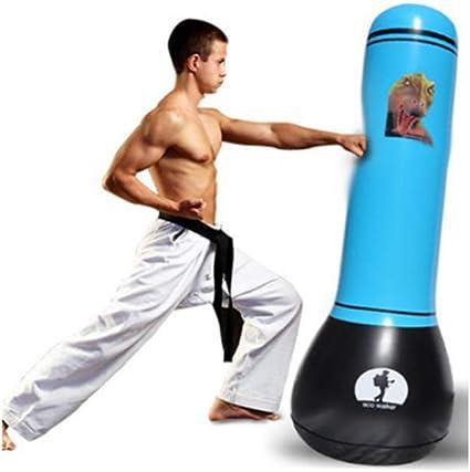 Inflatable Boxing Punching Bag Standing Sandbag Adult Children Box Decompression