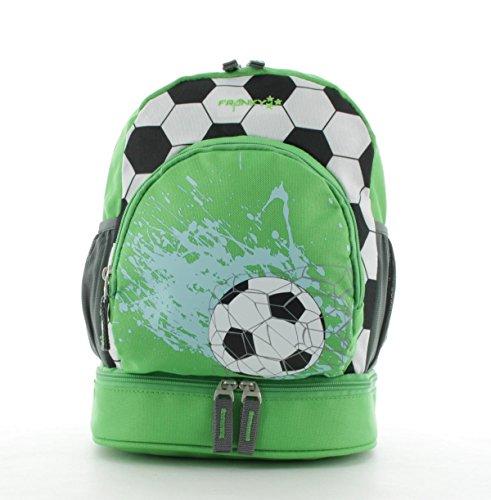 Franky Kinderrucksack mit Bodenfach KRS2 Backpack Fussball