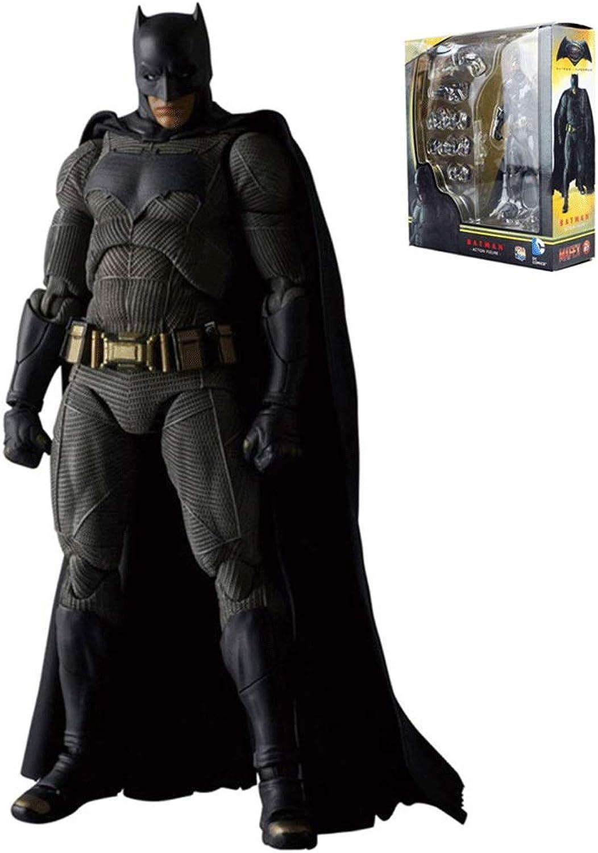 Wen Zhe 16 CM New Batman vs. Superman  Justice League MAFEX 017 Batman Figure Model PVC Action Character Collection Model Toy L1071 Game Model