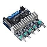 Zerone Tarjeta Amplificador Audio TPA3116 50W + 50W Tarjeta Amplificador Subwoofer de Doble Canal Tarjeta Amplificador Audio Digital HiFi