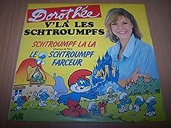 V'Là Les Schtroumpfs : Schtroumpf La La (Chanson Du Film) / Le Schtroumpf Farceur - 45 tours - 7