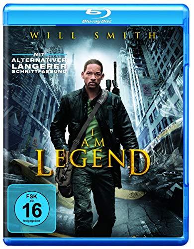 I Am Legend [Blu-ray] (Blu-ray)