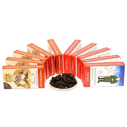 Crottendorfer–Conos Incienso–10x 24Pack