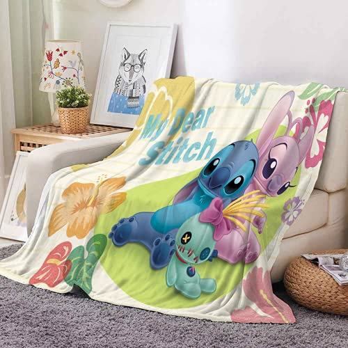 QWAS Manta de punto unisex, para sofá, sillón y cama, funda de sofá, manta de viaje (1,150 x 200 cm)