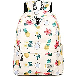 Backpack for Girls,Fashion Printng College Bags Student School Backpack Fits 14Inch Laptop Travel Bag Daypack