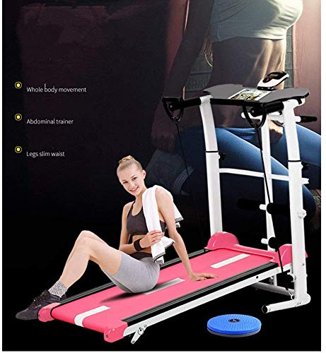 WWXY 2-in-1-Klapp-Laufband unter dem Schreibtisch Home Gym Office Walkpad-Laufmaschine Ultra-leises mechanisches Laufband für Heimübungen 100 x 50 x 90 cm