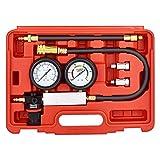 FAERSI Cylinder Leak Detector - Engine Compression Diagnosis Tester Kit - Cylinder Leakage Pressure Detector Test Set for Piston Ring, Valve, Head Gasket