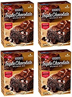 Betty Crocker's Hershey's Triple Chocolate Brownie Mix (20 oz., 4 pk.) (4 boxes)