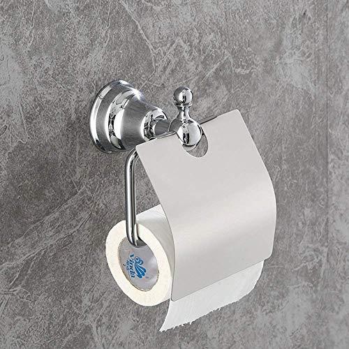 ShiSyan Baño Papel Higiénico Soporte de Papel de Cobre sostenedor de la Toalla de baño Caja de pañuelos de Papel en Rollo baño Hardware Papel higiénico Titular Sólido Soportes de Toallas de Papel