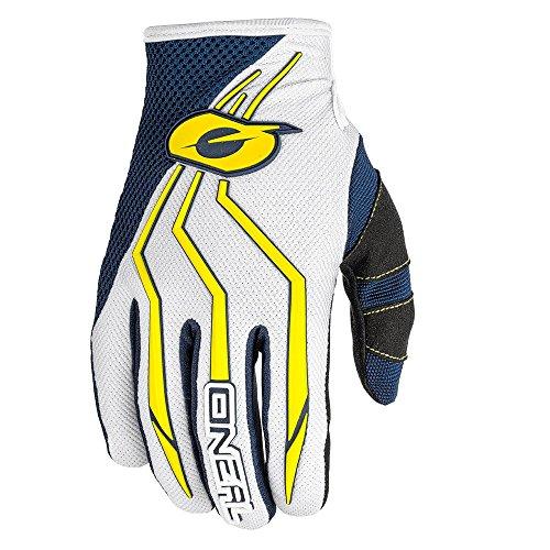 Oneal Element Kinder Motocross Handschuhe 2018 Enduro Quad Atv Downhill Mx Sx (M, Blau/Gelb)