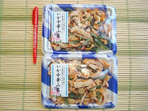築地丸中 いか山菜中華2パック