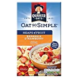 Avena quaker oat to simple de fresas y banana