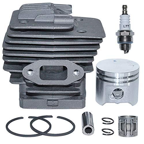 AUMEL Kit de pistón de Cilindro de 38 mm para desbrozadoras Stihl FS220 FR220 FS180 FS220K Reemplace 4119 020 1204.