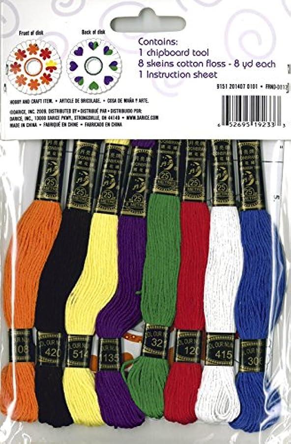 Darice Friendship Bracelet Kit, Primary
