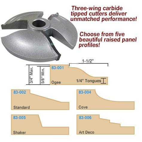 Raised Panel Shaper Cutter