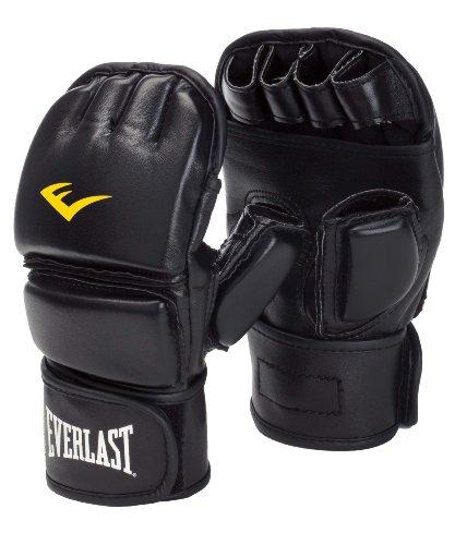 Everlast Erwachsene Boxartikel 7562 Martial Arts Cloed Thumb Gloves Boxhandschuhe, Black, S/M