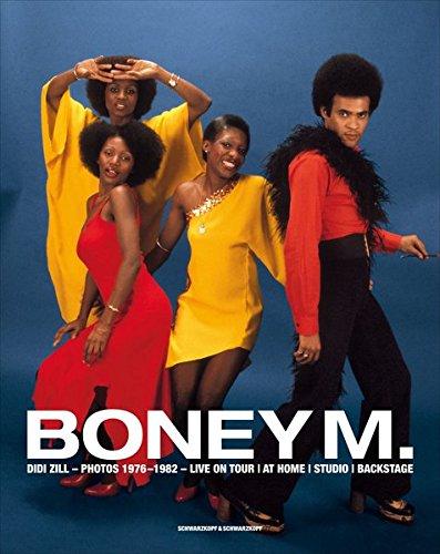 Boney M.: Live on Tour - at Home - Studio - Backstage. Dt. /Engl.