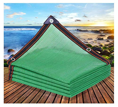 Relaxdays, groene omheining, Privacy Shield for Afsluitingen & Reling, HDPE Net, UV-bestendig, weerbestendig, Meerdere Maten (Color : Green, Size : 2×7m)