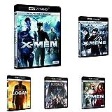 Pack X-Men - Incluye: X-Men + X-Men 2 + X-Men 3 + X-Men: Apocalipsis + X-Men: Apocalipsis 4k Uhd [Blu-ray]