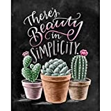 DIY 5D Diamond Painting by Number Kits,Full Drill Crystal Rhinestone Embroidery Pictures Arts Craft for Home Wall Decoration Cactus 11.8×15.7Inches