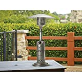 Mosaic Tabletop Patio Heater Efficient Burner System outputs up to 10,000 BTUs