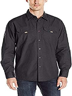 Wrangler Authentics Men`s Long Sleeve Canvas Shirt