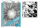 Deleter Screen Tone Jr JR-166 [ Explosion Pattern ] [Sheet Size 182x253mm (7.16'x9.96')] For Comic Manga Illustration