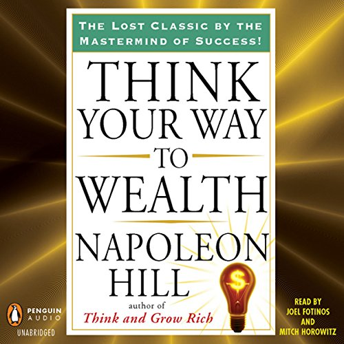 Think Your Way to Wealth audiobook cover art