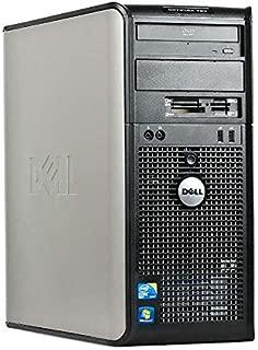 Dell Optiplex 780 Mini Tower Business Desktop Computer PC (Intel Dual-Core 3.06GHz Processor, 4GB DDR3 Memory, 160GB HDD, DVDRW, VGA, DisplayPort, Windows 7 Professional) (Renewed)