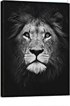 no frame African Lions Family Black And White Canvas Art Posters And Prints Animals Wall Art Pictures Home Decor Canvas print 7.8x11.8in 20x30cm