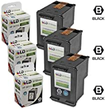 LD Remanufactured Replacement Ink Cartridges for HP CC654AN HP 901XL / 901 HY Black (3 Pack) for The OfficeJet J4540, J4580, J4660, G510a, J4680c, G510n, J4524, J4550, 4500, J4624, J4680, G510g