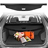 CUMART Cargo Cover Compatible with Chevrolet Chevy Equinox 2018 2019 2020 Retractable Rear Trunk Security Shield Luggage Shade Black