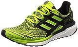 adidas Energy Boost M, Zapatillas de Running para Hombre, Verde (Slime/Sslime/Cblack Sslime/Sslime/Cblack), 40 2/3 EU