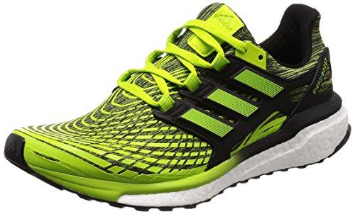 adidas Energy Boost M, Zapatillas de Running para Hombre, Verde (Slime/Sslime/Cblack Sslime/Sslime/Cblack), 42 EU ✅