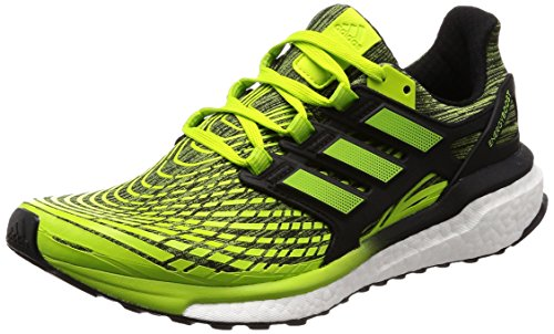 adidas Energy Boost M, Zapatillas de Running para Hombre, Verde (Slime/Sslime/Cblack Sslime/Sslime/Cblack), 43 1/3 EU