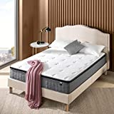 ZINUS 10 Inch Cool Touch Comfort Gel-Infused Hybrid Mattress / Pocket Innersprings for Motion Isolation / Mattress-in-a-Box, Queen