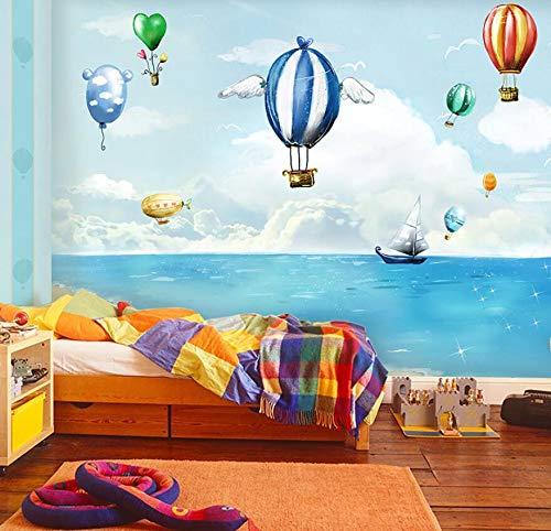 Junge und Mädchen Wandbild Schlafzimmer Wanddekoration Mediterrane Tapete 430cm * 300cm