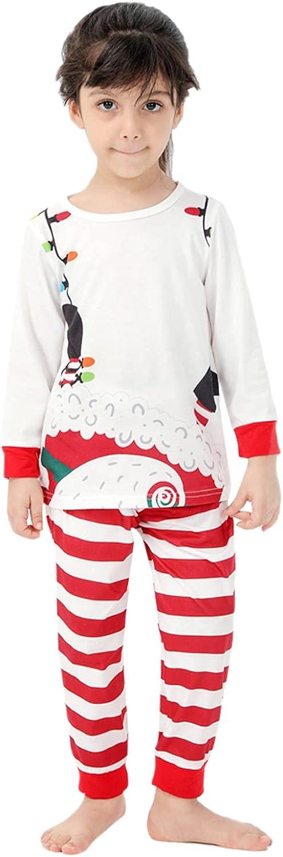 Family Matching Pajamas Christmas Jammies Clothes Cotton Holiday Sleepwear Pjs Long Sleeve Sets Loungewear Sleepwear
