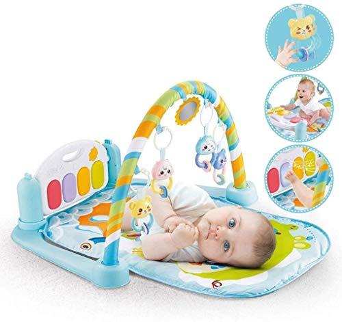 ZHJIUXINGZD Baby Piano Gym, Kick and Play Alfombra De Juego para Bebés Recién Nacidos, Alfombra De Juegos para Bebés con Luces Y Música, Juguetes De Regalo para Bebés